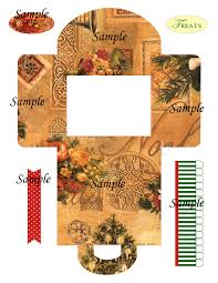 christmas box templates
