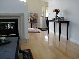 maple hard wood floors