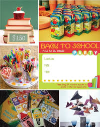 back to school party theme