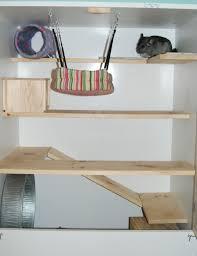 custom chinchilla cage