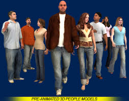 3d animated model