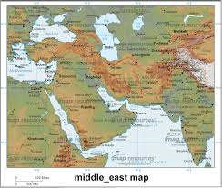middle east maps