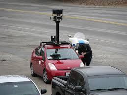 google earth street view car