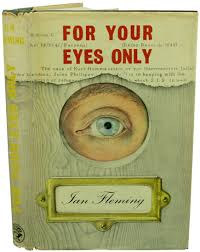 for your eyes only ian fleming