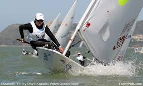 laser sailboat racing