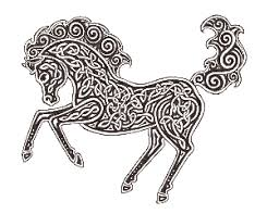 celtic horse design