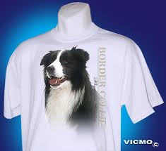 border collie tshirt