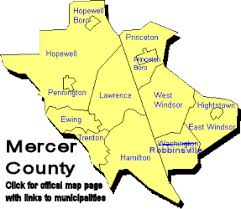 mercer county map
