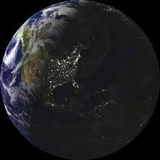glow in the dark globe