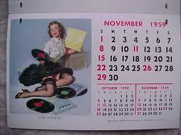 gil elvgren calendar