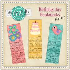 bookmarks template