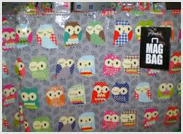paperchase owl bag