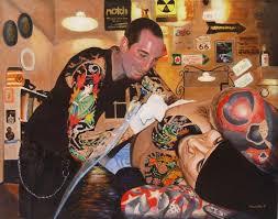 tattoos of paintings