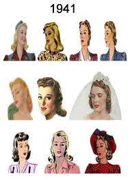 hairstyles in the 1940s