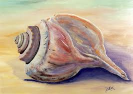 shell painting