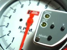 auto gauge tach