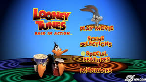 looney tunes back in action dvd