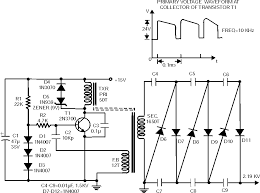 high voltage power supply circuit
