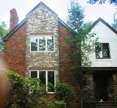 exterior stone facade