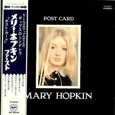 mary hopkin postcard