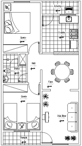 planta baixa de casas
