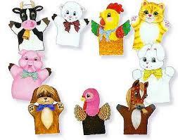 farm animals puppets