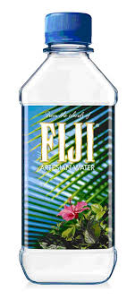 fiji water bottle