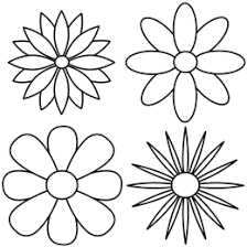 flowers that are easy to draw