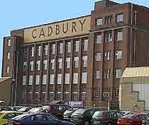 cadbury factory