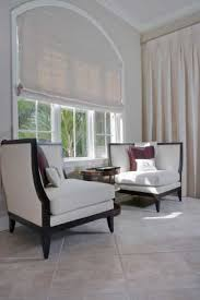 curved window blinds