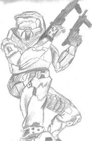 how to draw halo