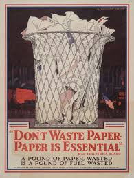 don t waste paper
