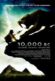 10000 bc movie poster