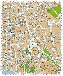 trevi fountain map