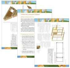chicken hutch plans