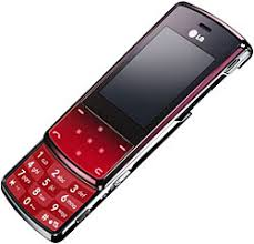 red slide phone