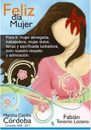 postales dia internacional de la mujer