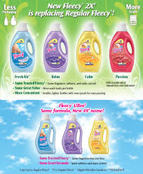 fleecy fabric softener