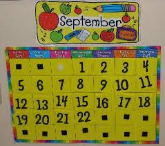 number calendar