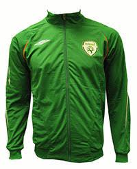 irish soccer jacket