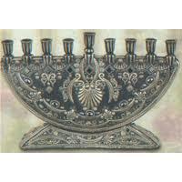 crystal menorah
