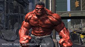 red hulk comics