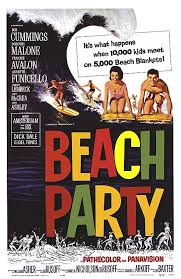 beach party posters