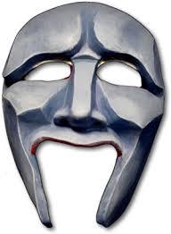 greek chorus mask