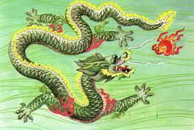 chinese art dragons