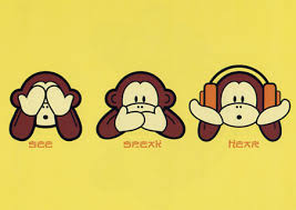 hear see speak no evil monkeys