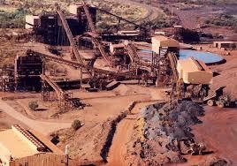 iron ore mined