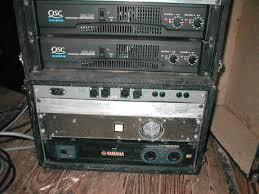 amplifier rack