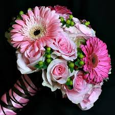 pink gerber daisy bouquets