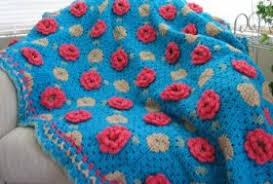 flower afghan